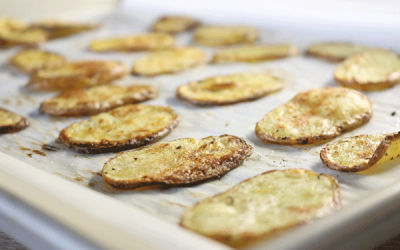 Recipe: Baked Potato Chips