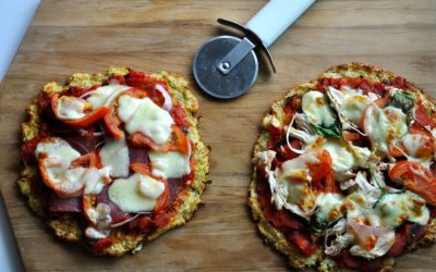 Recipe: Cauliflower Pizzas