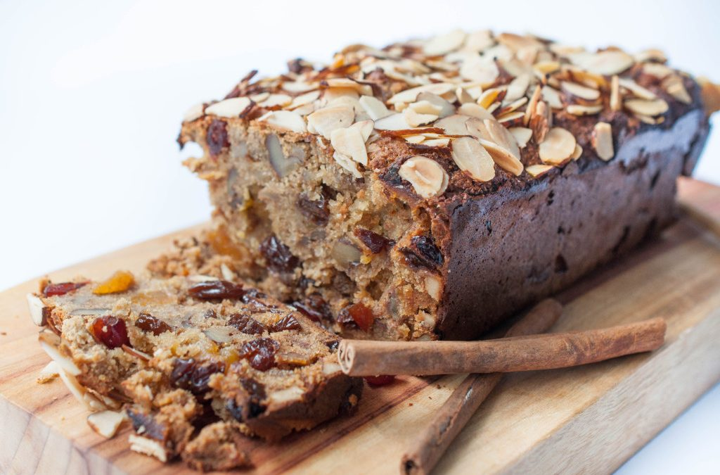 Recipe: Sugar Free Fruit & Nut loaf