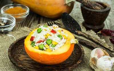 Recipe: Tri-Colour Pumpkin Risotto