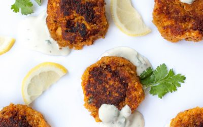 Recipe: Sweet potato falafels